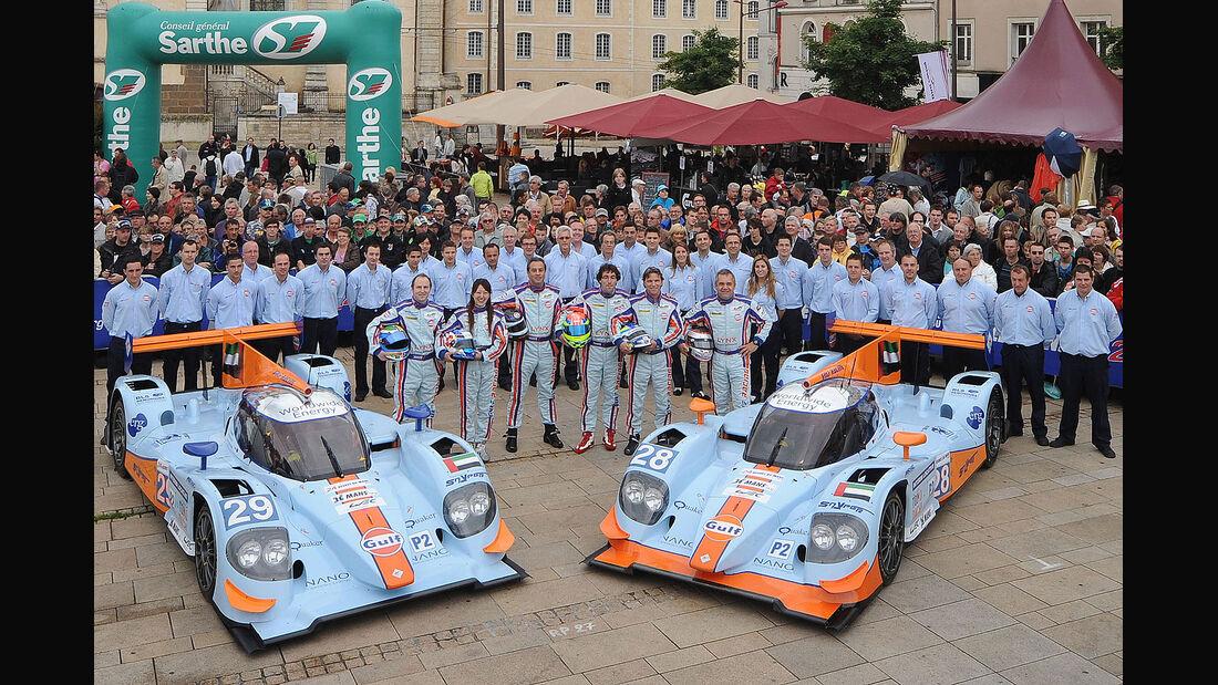 24h-Rennen LeMans 2012,Lola  B12/80 Coupe - Nissan, No.28, LMP2