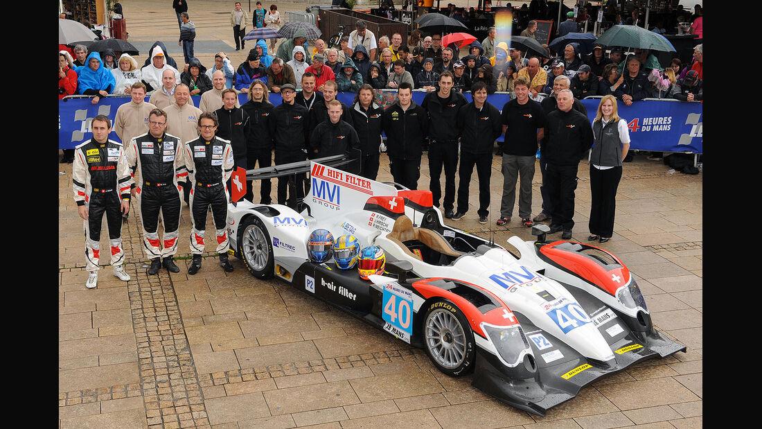 24h-Rennen LeMans 2012,Oreca 03 - Judd, No.40, LMP2