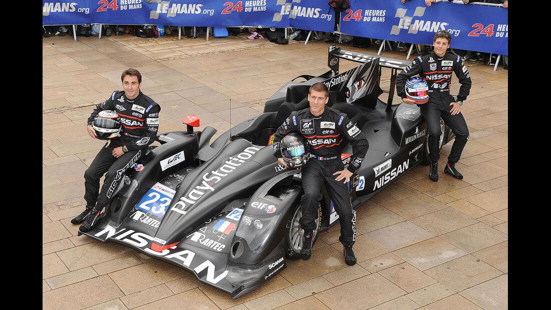24h-Rennen LeMans 2012,Oreca 03 - Nissan, No.23, LMP2