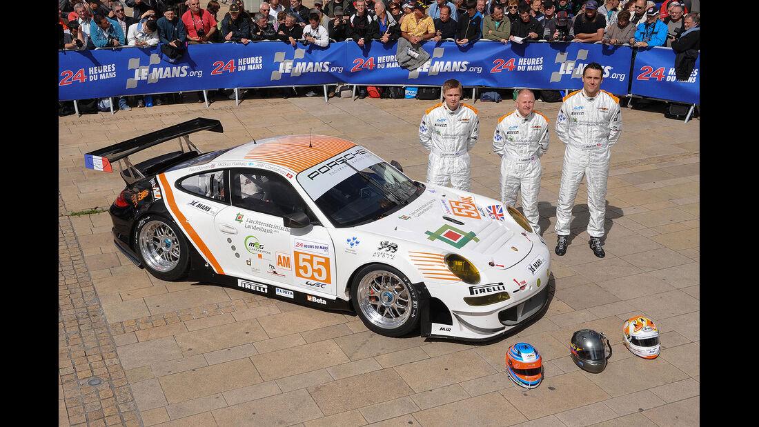 24h-Rennen LeMans 2012,Porsche 911 RSR (997), No.55, LMGTE Am