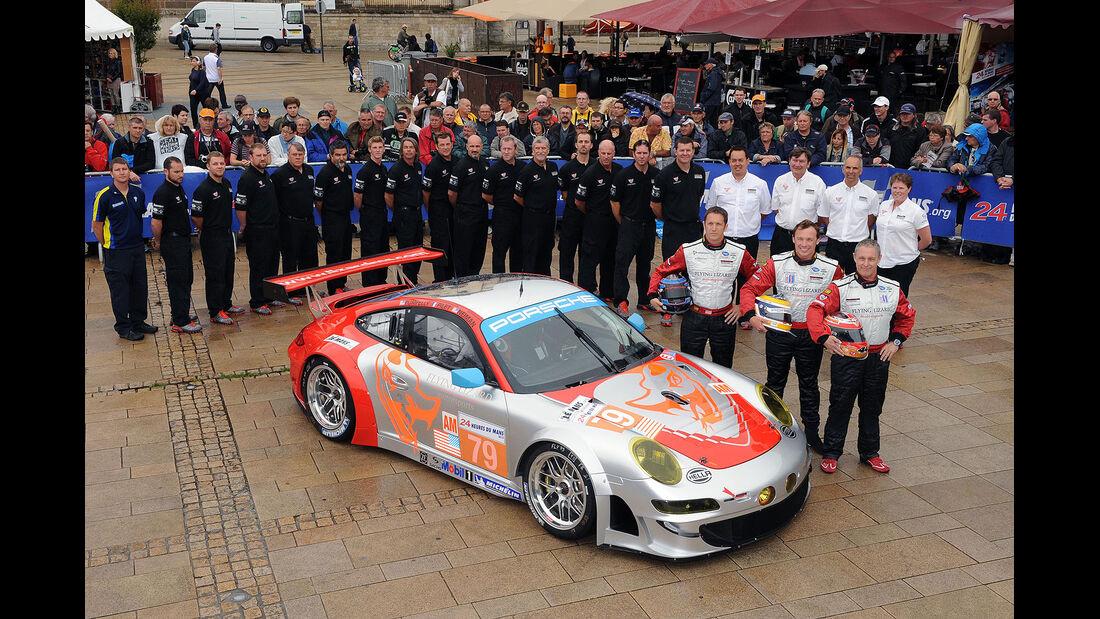 24h-Rennen LeMans 2012,Porsche 911 RSR (997), No.79, LMGTE Am