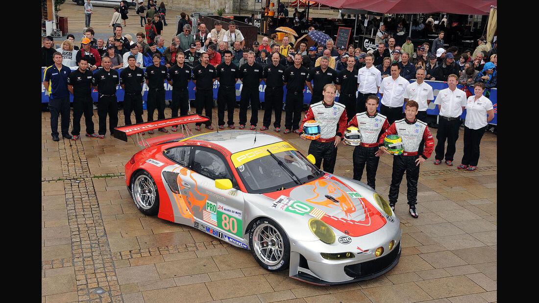 24h-Rennen LeMans 2012,Porsche 911 RSR (997), No.80, LMGTE Pro