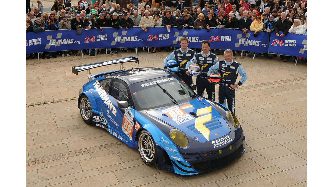 24h-Rennen LeMans 2012,Porsche 911 RSR (997), No.88, LMGTE Am