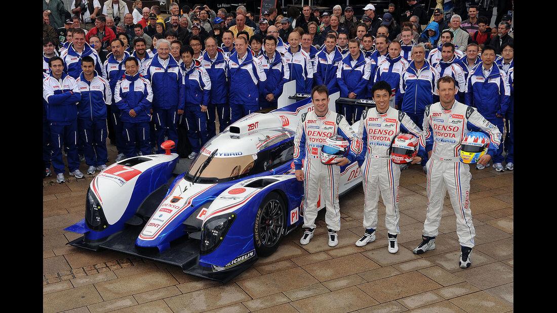 24h-Rennen LeMans 2012,Toyota TS 030 - Hybrid, No.7, LMP1