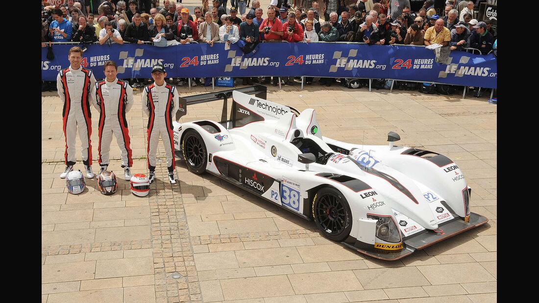 24h-Rennen LeMans 2012,Zytek Z11SN - Nissan, No.38, LMP2