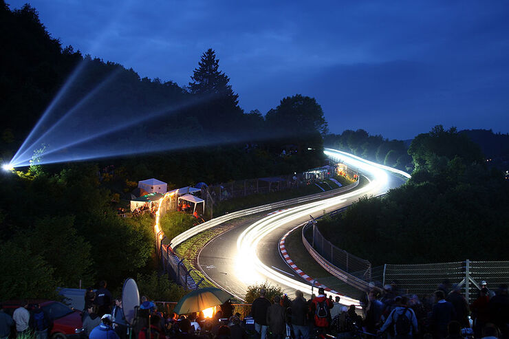 24h Rennen N�rburgring Atmosph�re Nacht