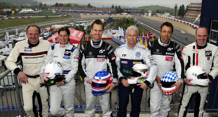 24h-Rennen Nürburgring 2010 Motor Presse Stuttgart Fahrer