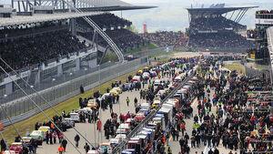 24h-Rennen Nürburgring 2010 Startaufstellung
