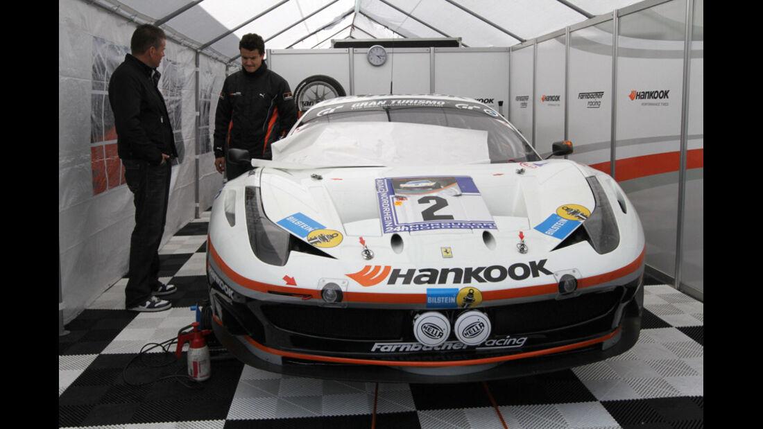 24h Rennen Nürburgring 2011 Ferrari Farnbacher