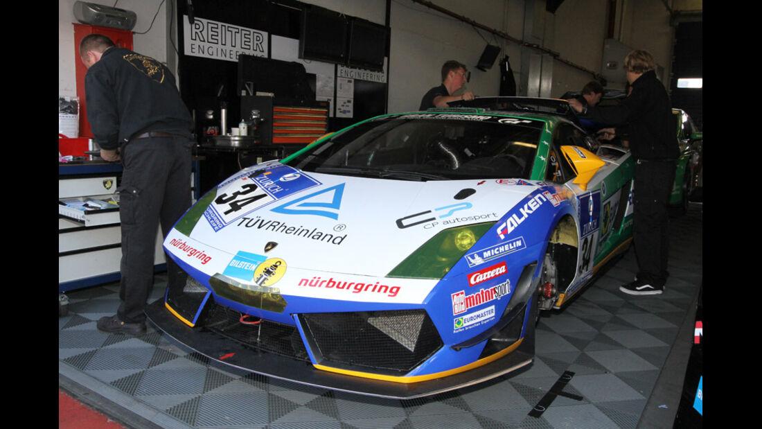 24h Rennen Nürburgring 2011 Lamborghini, Stuck