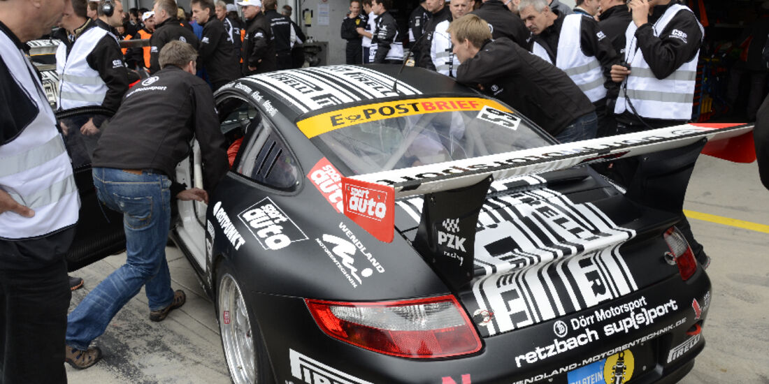 24h Rennen Nürburgring 2011 Pirelli Porsche