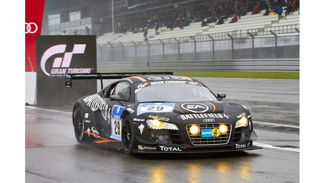 24h-Rennen Nürburgring 2013, Audi R8 LMS ultra , SP 9 GT3, #29