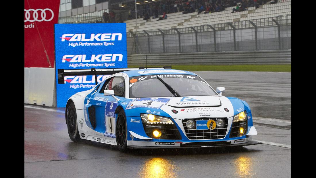 24h-Rennen Nürburgring 2013, Audi R8 LMS ultra , SP 9 GT3, #4
