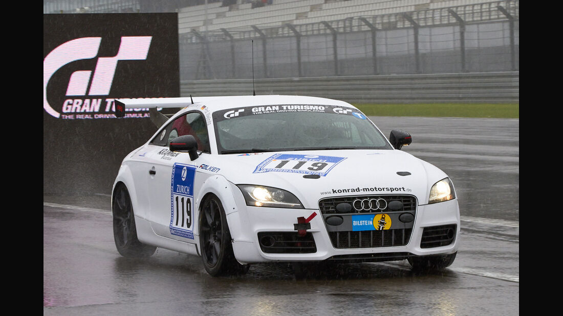 24h-Rennen Nürburgring 2013, Audi TT , SP 3T, #119