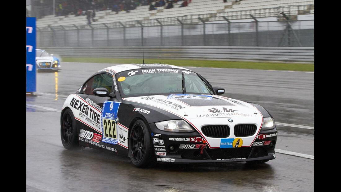 24h-Rennen Nürburgring 2013, BMW Z4 3,0 Si , V5, #222