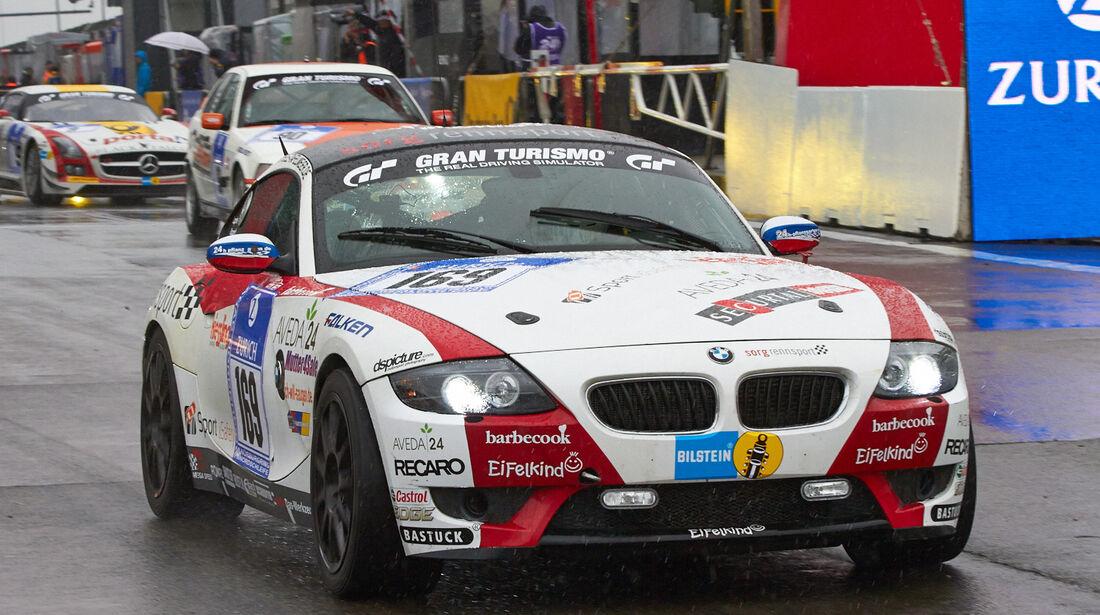 24h-Rennen Nürburgring 2013, BMW Z4 Coupé , V6, #169