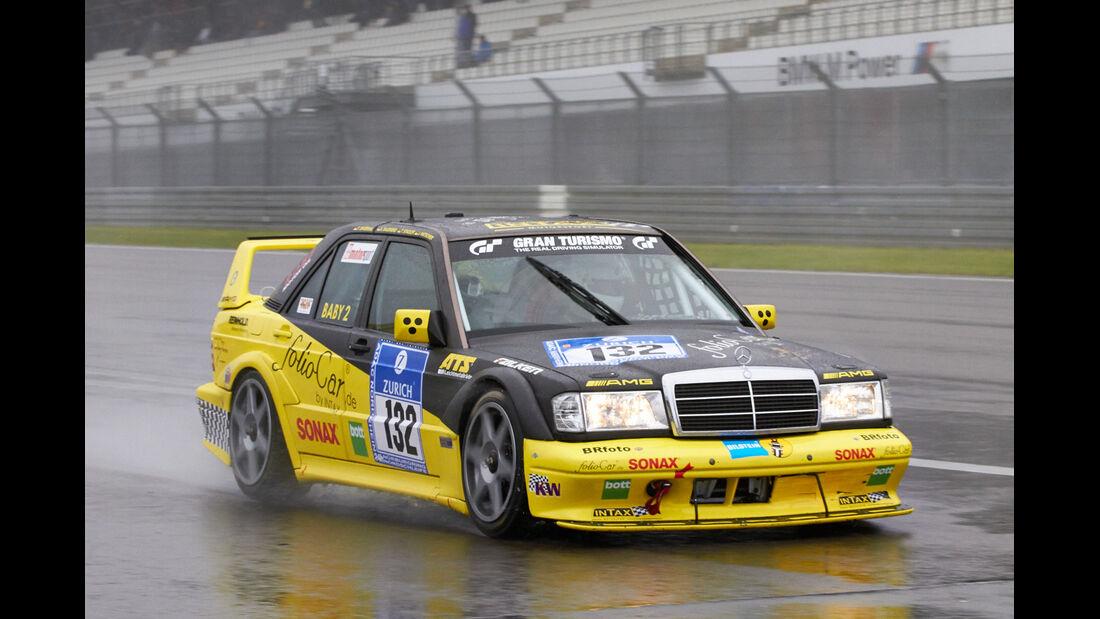 24h-Rennen Nürburgring 2013, Mercedes-Benz 190 E 2.5-16 AMG , SP 4 + SP 5, #132