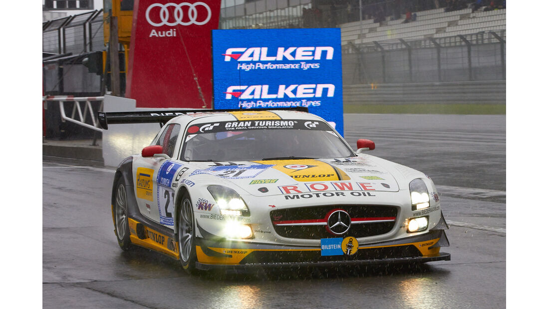 24h-Rennen Nürburgring 2013, Mercedes-Benz SLS AMG GT3 , SP 9 GT3, #21