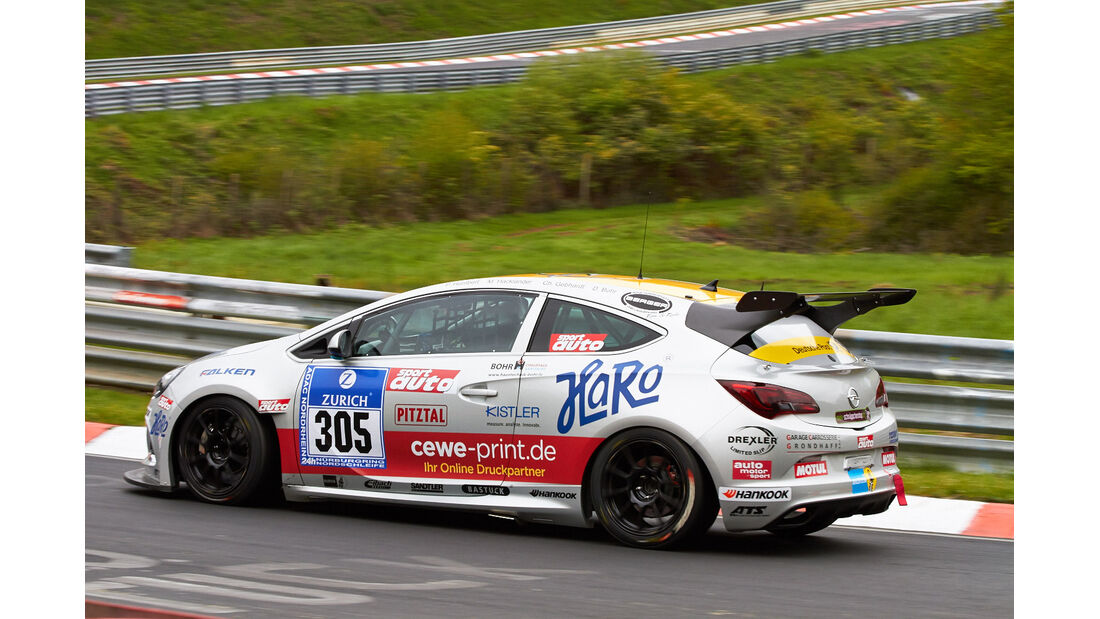 24h-Rennen Nürburgring 2013, Opel Astra OPC Cup , Cup 1, #305