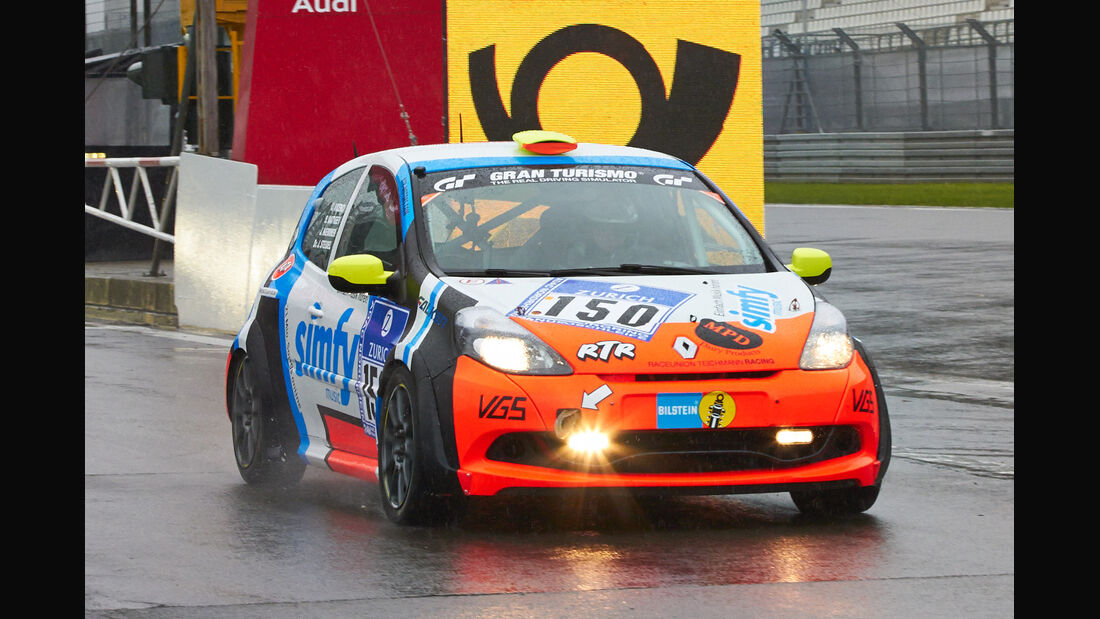 24h-Rennen Nürburgring 2013, Renault Clio , SP 3, #150