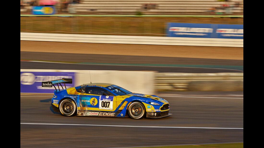 24h-Rennen Nürburgring 2014 - Unfälle - Aston Martin Vantage GT3