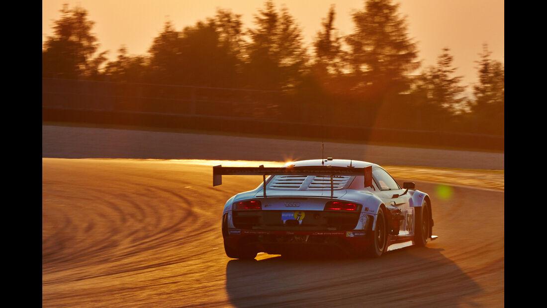 24h-Rennen Nürburgring 2014 - Unfälle - Audi R8 LMS ultra