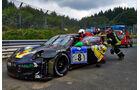 24h-Rennen Nürburgring 2014 - Unfälle - Porsche 911 GT3 R