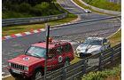 24h-Rennen Nürburgring 2014 - Unfälle - Porsche 997 - Toyota GT86