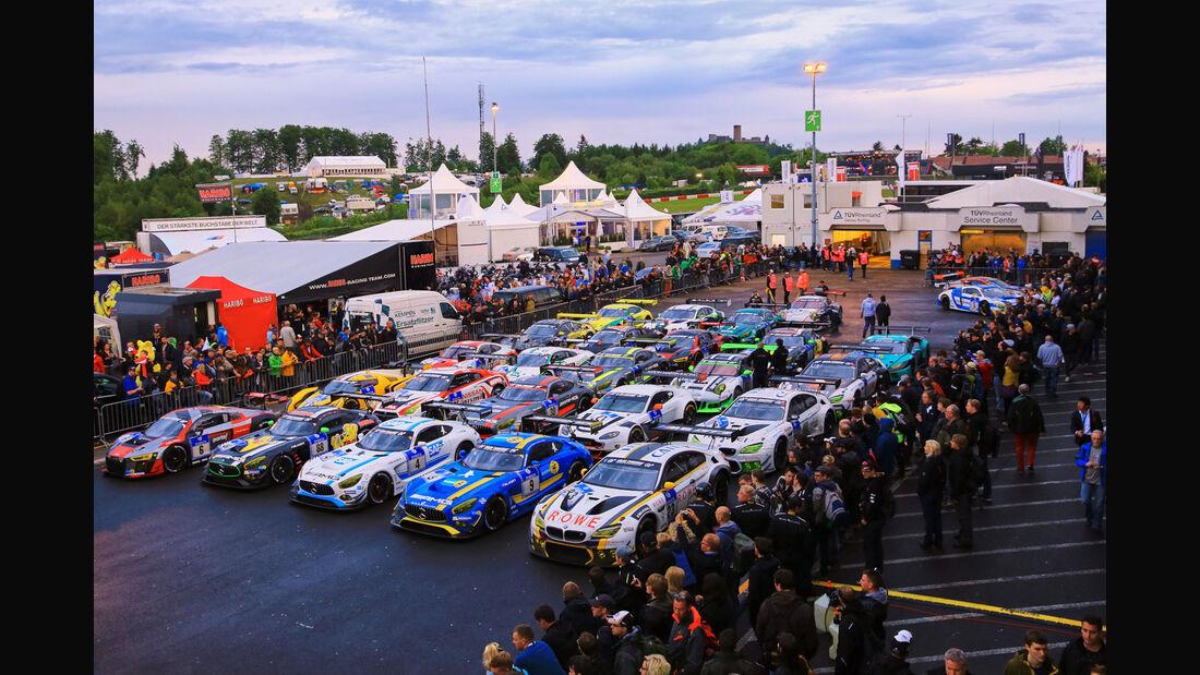24h-Rennen Nürburgring 2016 - Top 30-Quali - Nordschleife