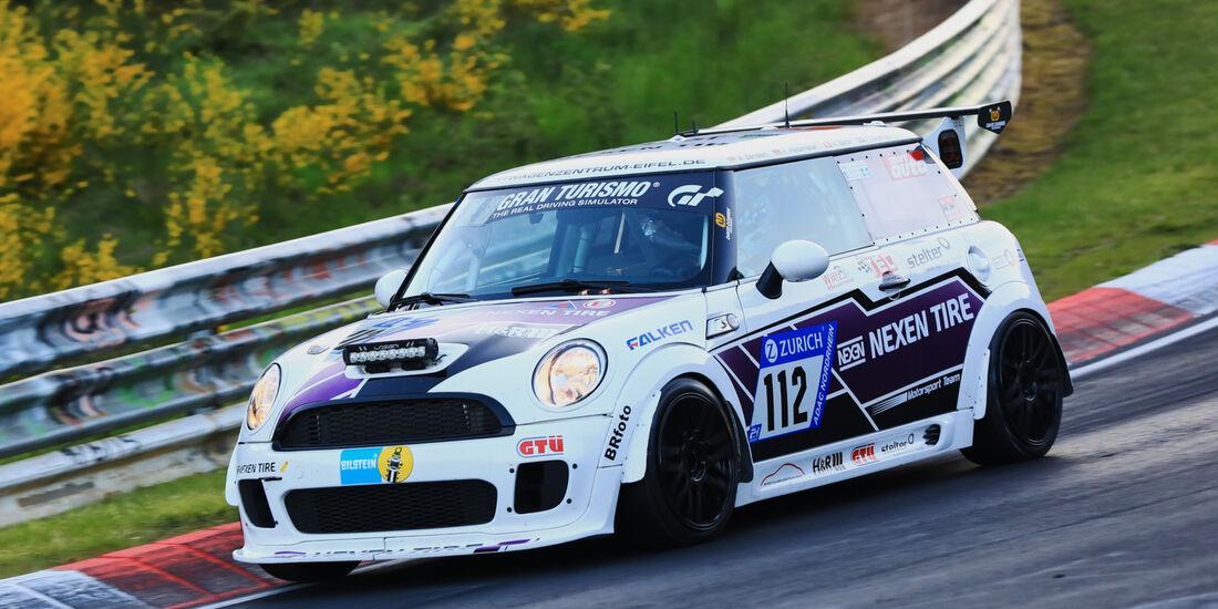 24h-Rennen Nürburgring 2017 - Nordschleife - Startnummer 112 - BMW Mini JCW - Klasse SP 2T