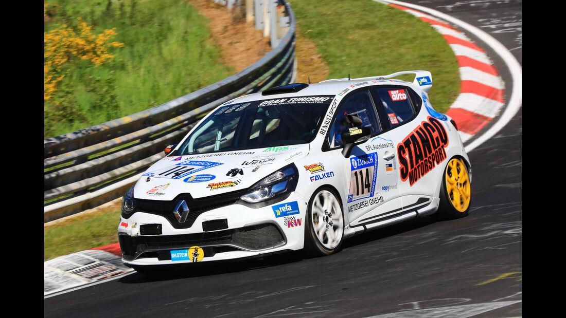 24h-Rennen Nürburgring 2017 - Nordschleife - Startnummer 114 - Renault Clio Endurance -Stanco &Tanner Motorsport - Klasse SP 2T