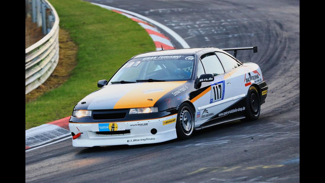 24h-Rennen Nürburgring 2017 - Nordschleife - Startnummer 117 - Opel Calibra - Sponsor: TJ-Racing-Team - Klasse SP 3