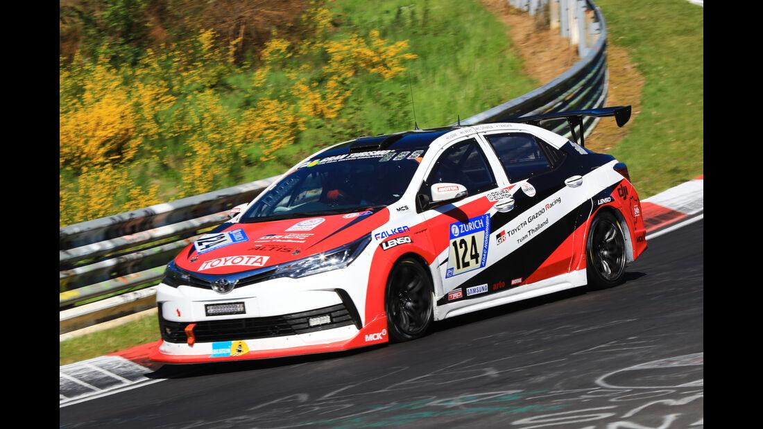 24h-Rennen Nürburgring 2017 - Nordschleife - Startnummer 124 - Toyota Corolla Altis - Toyota Gazoo Racing Team Thailand - Klasse SP 3