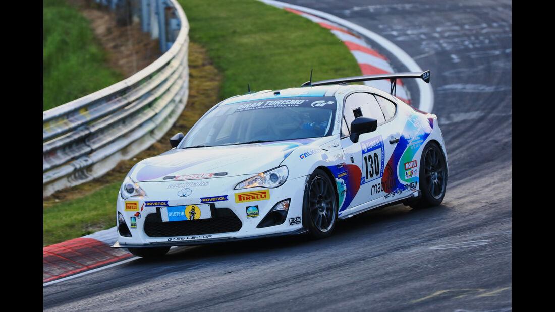 24h-Rennen Nürburgring 2017 - Nordschleife - Startnummer 130 -Toyota GT86 - Pit Lane - AMC Sankt Vith - Klasse SP 3