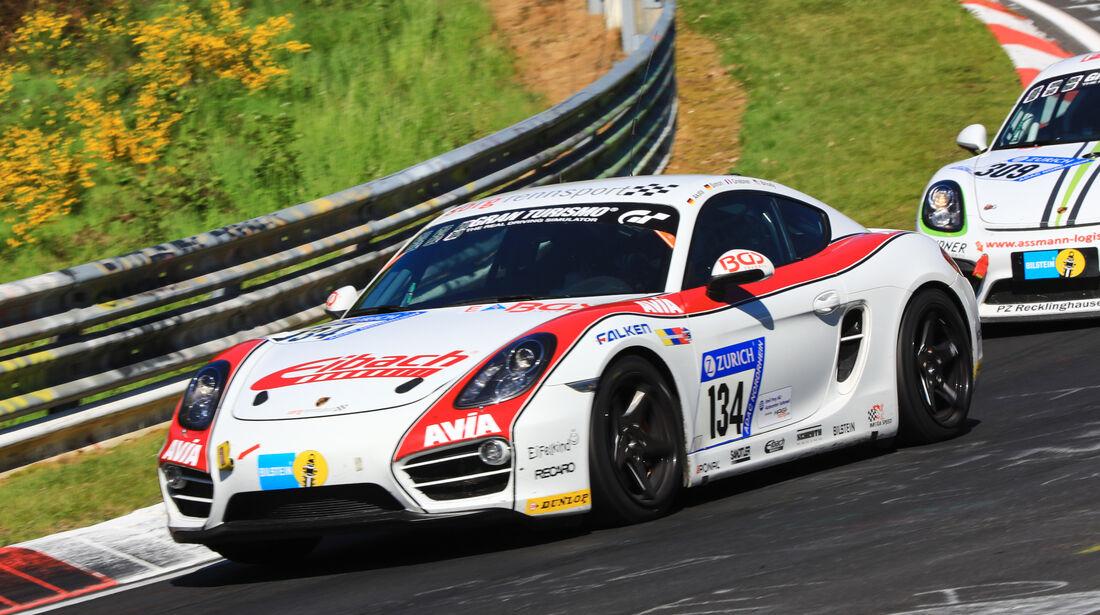 24h-Rennen Nürburgring 2017 - Nordschleife - Startnummer 134 - Porsche Cayman S - Securtal Sorg Rennsport - Klasse V 6