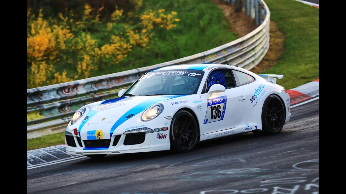 24h-Rennen Nürburgring 2017 - Nordschleife - Startnummer 136 - Porsche 911 Carrera - aesthetic Racing - Klasse V 6