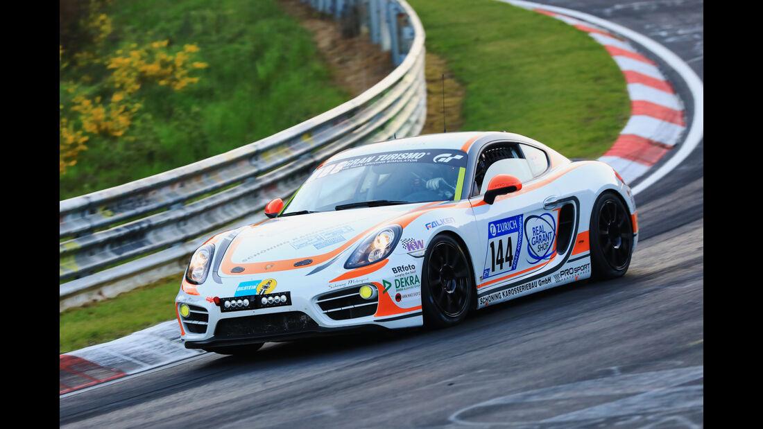 24h-Rennen Nürburgring 2017 - Nordschleife - Startnummer 144 - Porsche Cayman - Prosport Performance - Klasse V 5