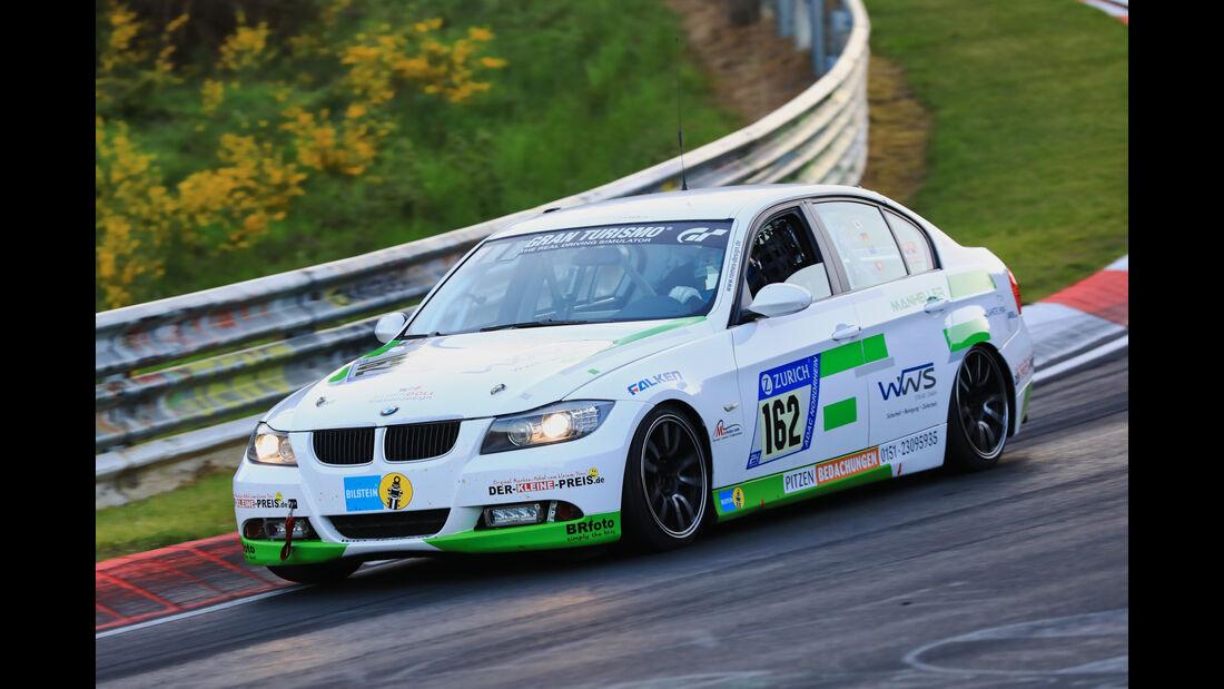 24h-Rennen Nürburgring 2017 - Nordschleife - Startnummer 162 - BMW E90 325 - Manheller Racing - Klasse V 4