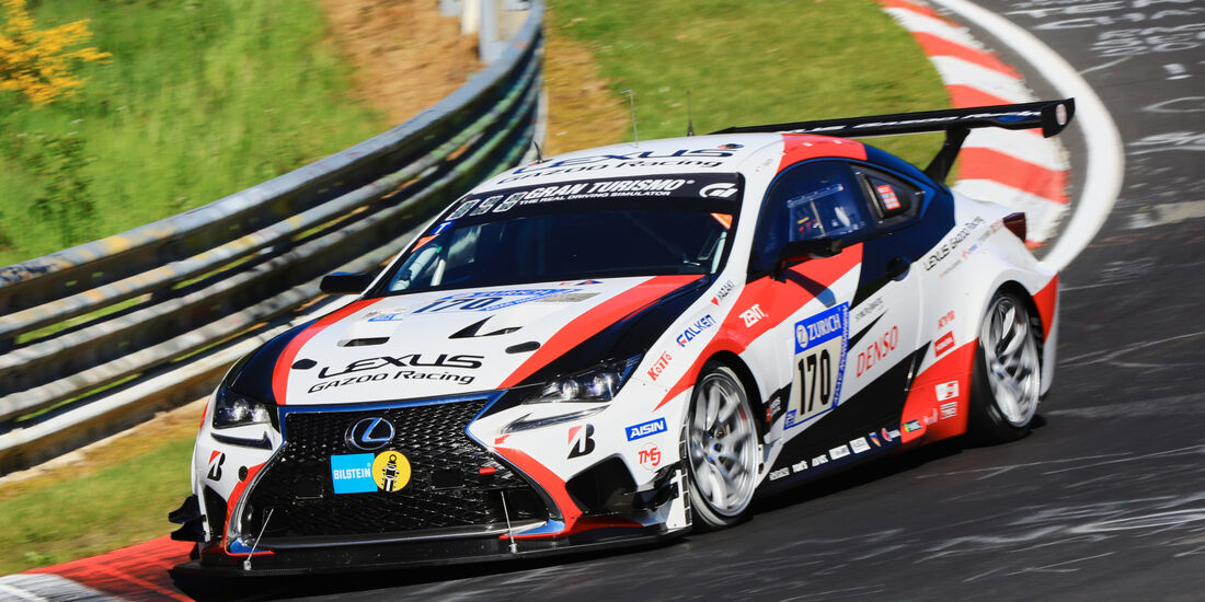 24h-Rennen Nürburgring 2017 - Nordschleife - Startnummer 170 - Lexus RC - Toyota Gazoo Racing - Klasse Sp 3T