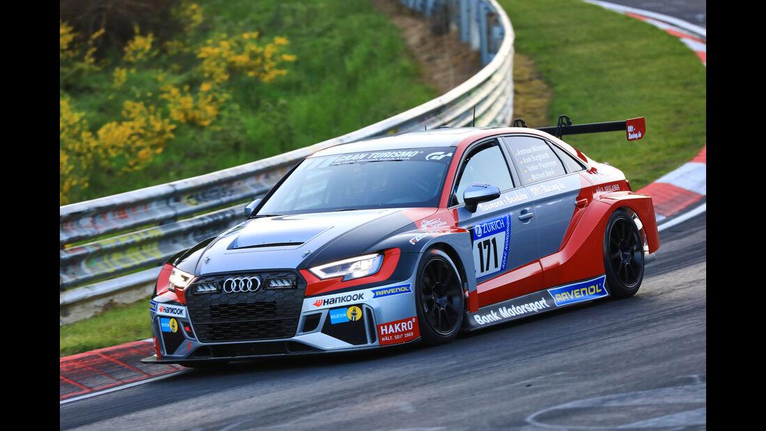24h-Rennen Nürburgring 2017 - Nordschleife - Startnummer 171 - Audi RS3 LMS - Bonk Motorsport - Klasse TCR