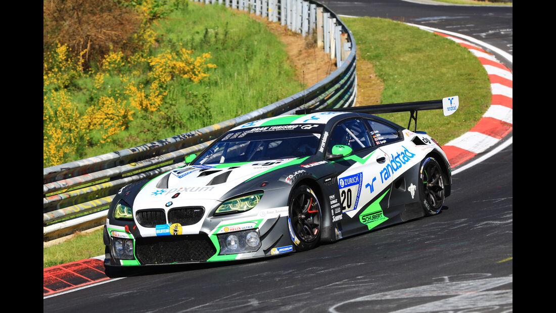 24h-Rennen Nürburgring 2017 - Nordschleife - Startnummer 20 - BMW M6 GT3 - Schubert Motorsport - Klasse SP 9