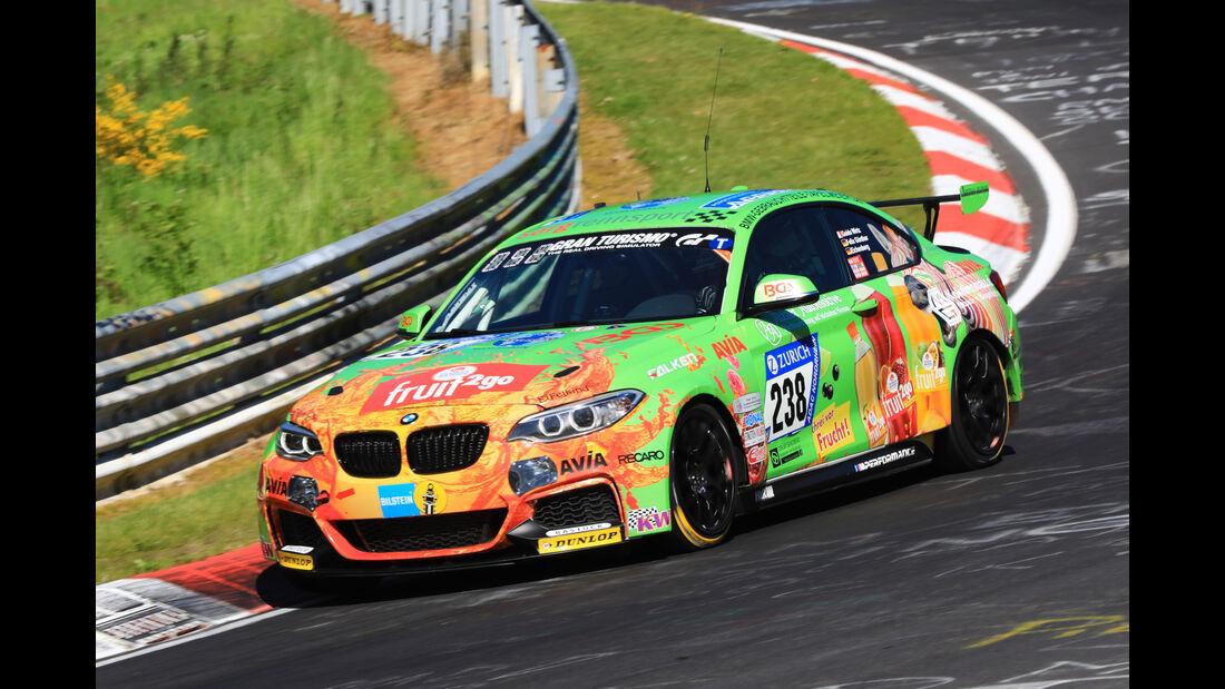 24h-Rennen Nürburgring 2017 - Nordschleife - Startnummer 238 - BMW M235i Racing - Walkenhorst Motorsport - Klasse Cup 5