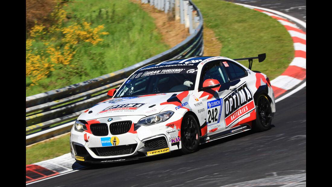 24h-Rennen Nürburgring 2017 - Nordschleife - Startnummer 242 - BMW M235i Racing - Pixum Team Adrenalin Motorsport - Klasse Cup 5