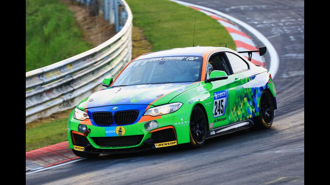 24h-Rennen Nürburgring 2017 - Nordschleife - Startnummer 245 - BMW M235i Racing - Bonk Motorsport - Klasse Cup 5