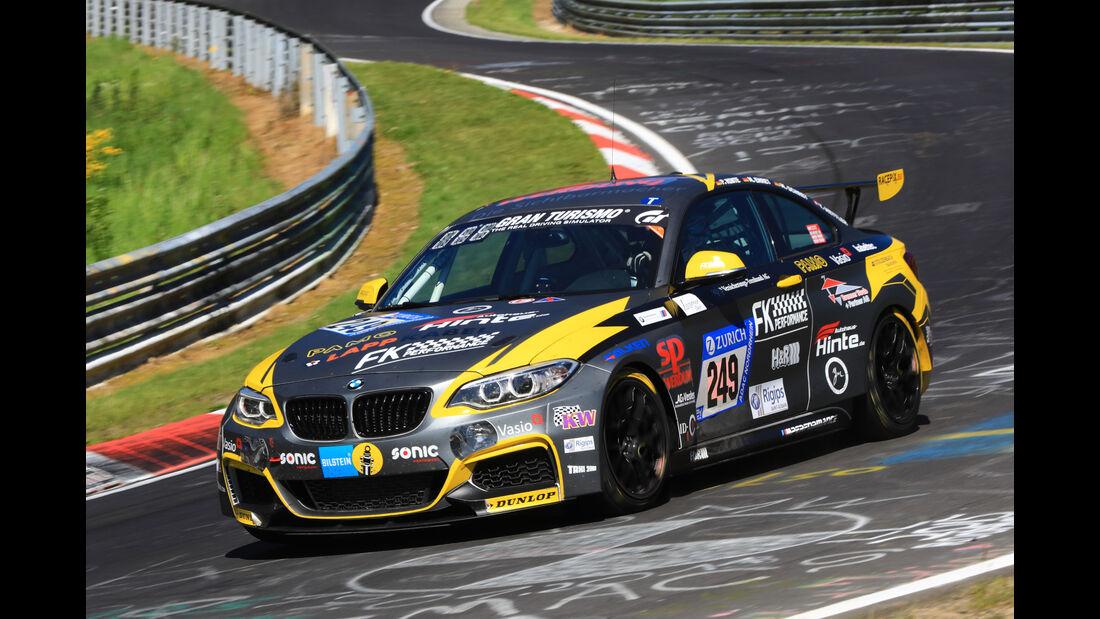 24h-Rennen Nürburgring 2017 - Nordschleife - Startnummer 249 - BMW M235i Racing - ADAC Team Weser Ems e.V. - Klasse Cup 5