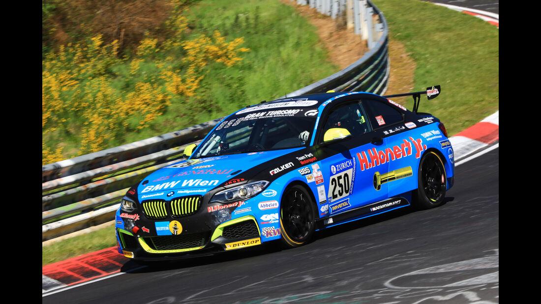 24h-Rennen Nürburgring 2017 - Nordschleife - Startnummer 250 - BMW M235i Racing - Scheid Honert Motorsport - Klasse Cup 5