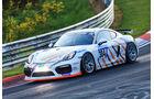 24h-Rennen Nürburgring 2017 - Nordschleife - Startnummer 304 - Porsche Cayman GT4 CS - Klasse Cup 3