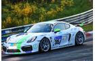 24h-Rennen Nürburgring 2017 - Nordschleife - Startnummer 305 - Porsche Cayman GT4 CS - Esba Racing - Klasse Cup 3