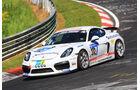 24h-Rennen Nürburgring 2017 - Nordschleife - Startnummer 312 - Porsche Cayman GT4 CS - Team Mathol Racing e.V. - Klasse Cup 3