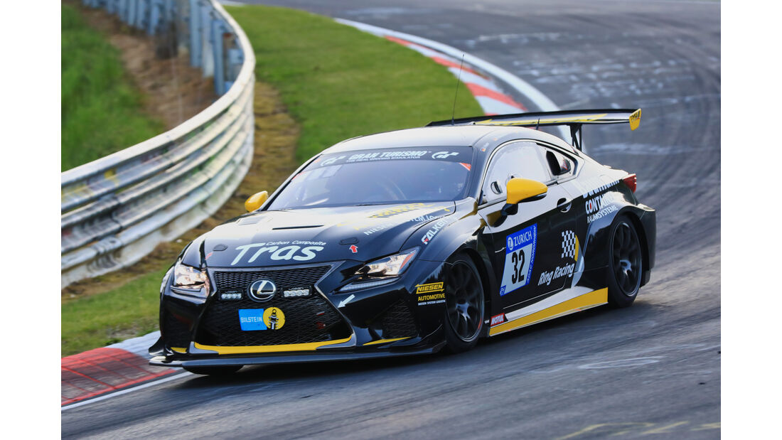 24h-Rennen Nürburgring 2017 - Nordschleife - Startnummer 32 - Lexus RCF -Ring Racing - Klasse SP 8